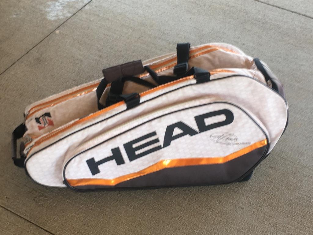 Head Tennis Tournament Bag - Gold