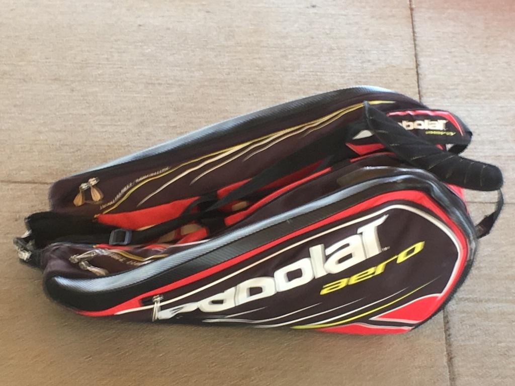 Babolat Tennis Tournament Bag - Red/Black
