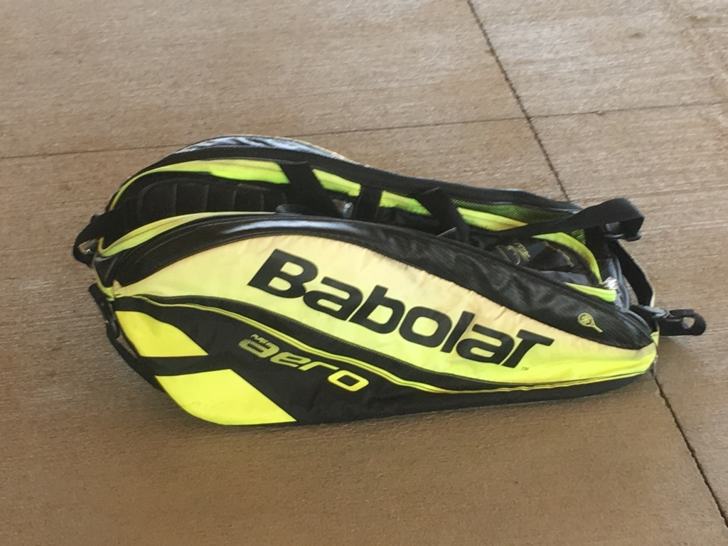 Babolat Tennis Tournament Bag - Yellow/Black