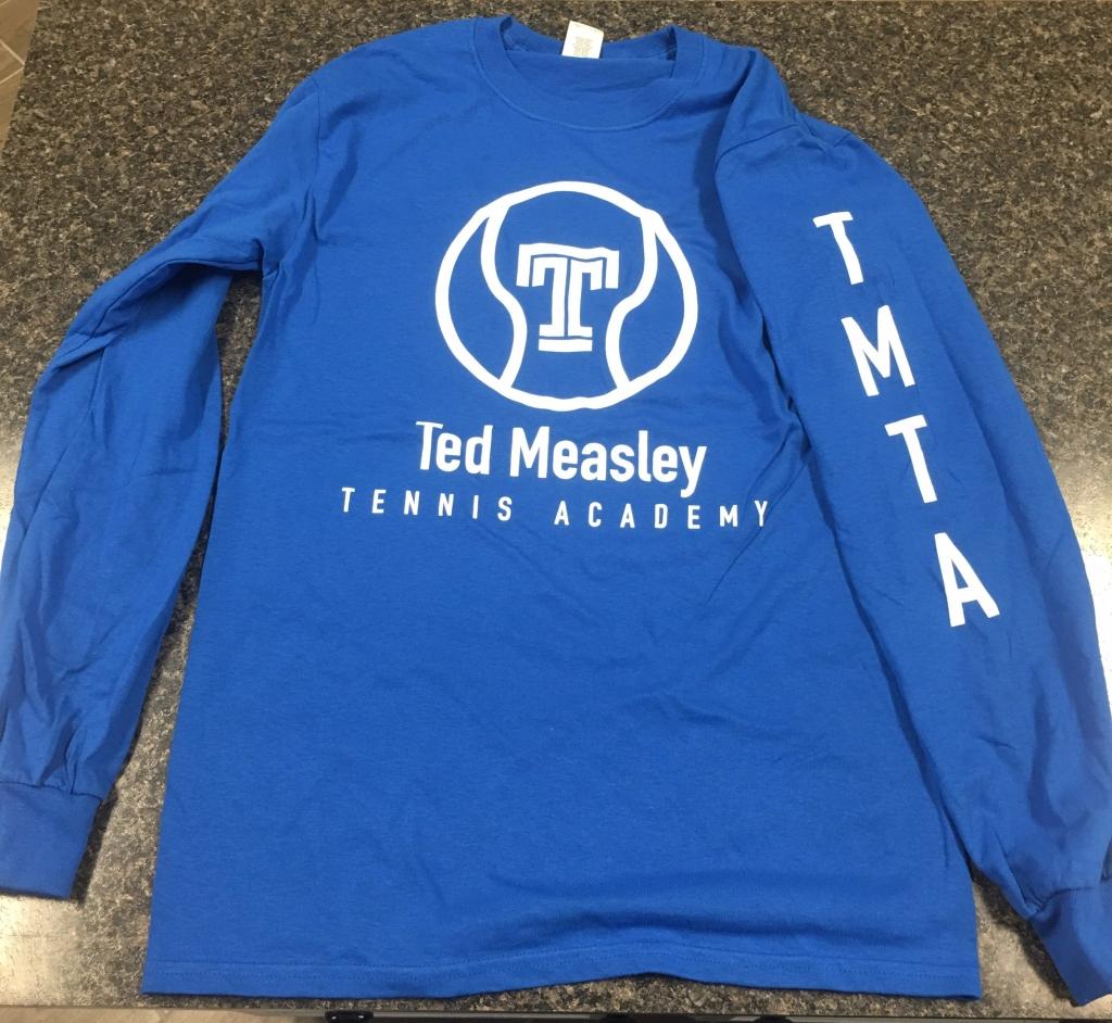 TMTA Long Sleeve Shirt -Blue