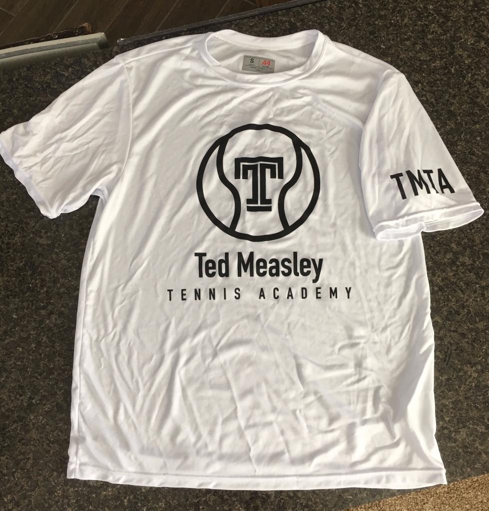 TMTA Dry Fit Short Sleeve - White